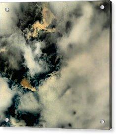 Touch Of Orange Doomsday Sky series Acrylic Print