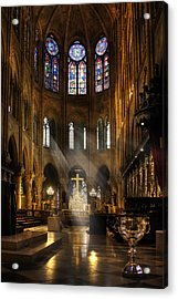 Acrylic Print featuring the photograph Touched By The Light by Yelena Rozov