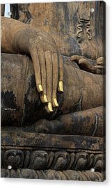 Touching The Earth Acrylic Print by Thomas  von Aesch