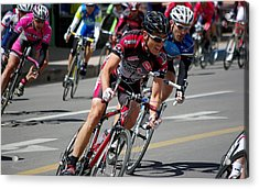 Acrylic Print featuring the photograph Tour Of The Gila - Criterium  by Vicki Pelham