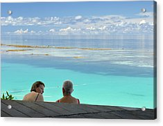Tourism Acrylic Print by Matthew Oldfield