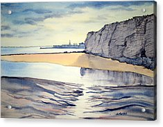 Towards Bridlington From Dane's Dyke Acrylic Print