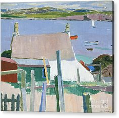 Towards Mull Acrylic Print by Francis Campbell Boileau Cadell