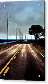 Towards The Coast Acrylic Print