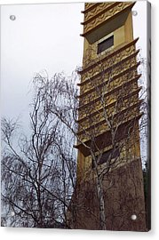 Tower And Trees Acrylic Print