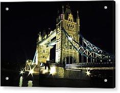 Tower Bridge Acrylic Print by Dawid Jaron