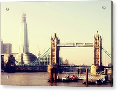 Tower Bridge Acrylic Print by Eva Millan Photography
