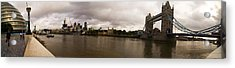 Tower Bridge Acrylic Print by Keith Sutton