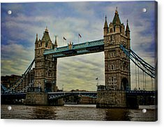 Tower Bridge London Acrylic Print by Heather Applegate