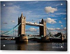 Tower Bridge Acrylic Print by Steven Gray