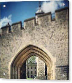 #tower #london #famous #landmark Acrylic Print