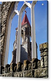 Tower Through The Window Acrylic Print