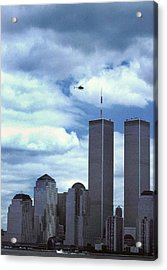 Towers Acrylic Print by Skip Willits