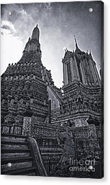 Towers Acrylic Print by Thanh Tran