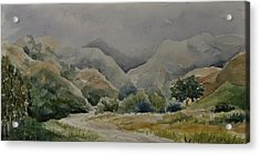 Towsley Canyon Morning Acrylic Print