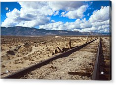 Track To The Mountains Acrylic Print by Jeffery Reynolds