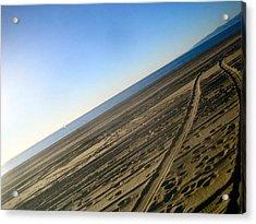 Tracks Acrylic Print by Jon Berry OsoPorto