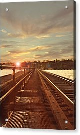 Tracks To Greatness Acrylic Print