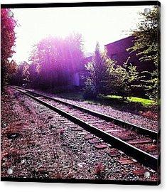Trackstonowhere Acrylic Print
