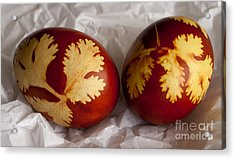 Traditional Easter Eggs Acrylic Print by Blink Images