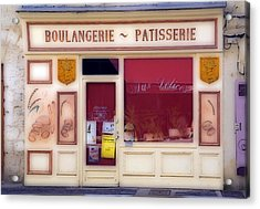 Acrylic Print featuring the photograph Traditional French Shop by Rod Jones