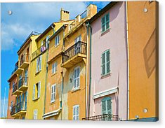Traditional Houses Acrylic Print