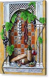 Traditions Acrylic Print