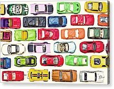 Traffic Jam Acrylic Print by Catherine MacBride