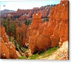 Trail View Bryce Canyon Acrylic Print