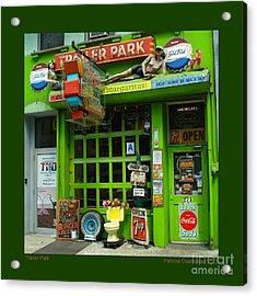 Trailer Park Acrylic Print