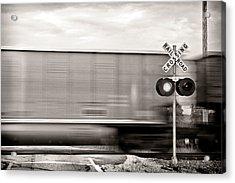 Train Keeps A Rollin Acrylic Print
