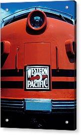 Train Western Pacific Acrylic Print