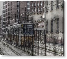 Tramway Acrylic Print by Angel Jesus De la Fuente