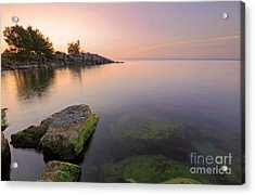 Tranquil Morning Acrylic Print by Charline Xia