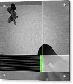 Tranquil Acrylic Print by Naxart Studio
