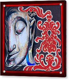 Tranquility Buddha Acrylic Print by Litos