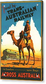 Trans-australia Railway Acrylic Print