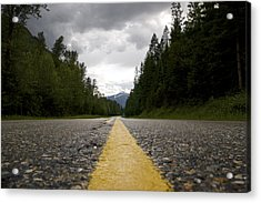 Trans Canada Highway Acrylic Print by JM Photography