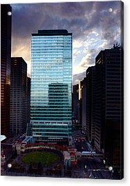 Transcanada Tower Acrylic Print by JM Photography