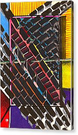 Transportation Hub Acrylic Print by Al Goldfarb