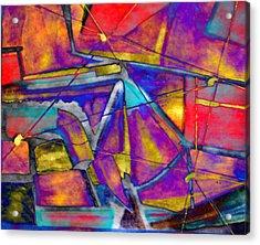 Trapezoid Acrylic Print