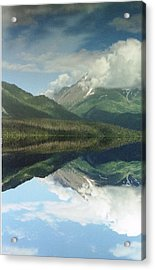 Traveling To Seward Acrylic Print by Ann Marie Chaffin
