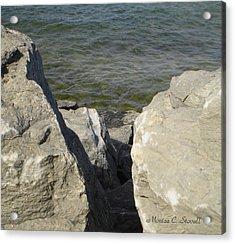 Traverse Bay Shoreline Collections - Michigan Acrylic Print