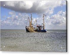 trawler - Sylt Acrylic Print by Joana Kruse