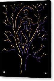 Tree Dancers Acrylic Print by Shane Robinson