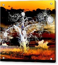 Requiem Acrylic Print by Ilias Athanasopoulos