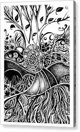 Tree Series 44 Acrylic Print