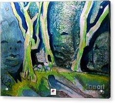 Tree Spirit Study Acrylic Print