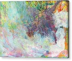 Trees 08 Acrylic Print by David W Coffin