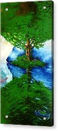 Trees Acrylic Print by Douglas Martin